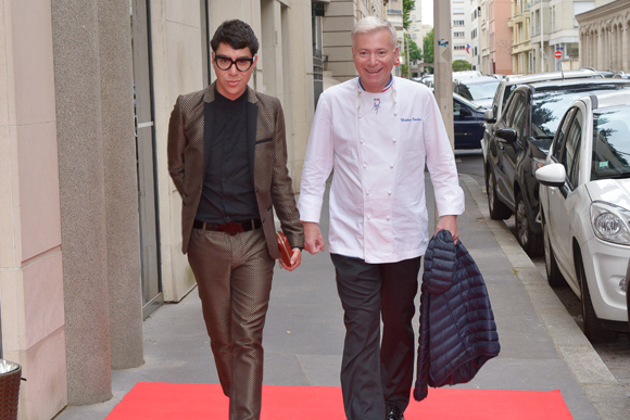 16. Dado Lopez Perez (styliste) et le chef Christian Têtedoie