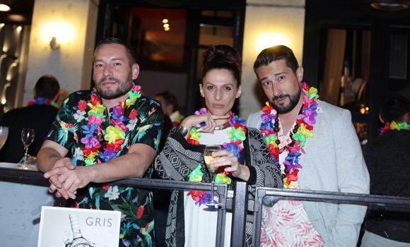17. Tony Gonçalves (Distriflex), Nathie et Fabrice (Enco)