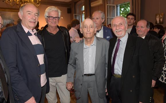 17. Christian Jaume, Alain Cuissard, Mario et André Vylar
