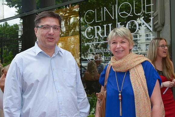 18. Eric Martin (chirurgien esthétique) et son assistante Nadine Genty