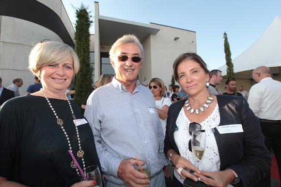19. Christine Cormorèche, Guy Chezeaubernard, huissier, et Emmanuelle Mousset (Macc France)