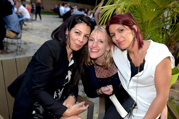19. Marlène Gouillet, Sandrine Medart et Aurélie Chardon