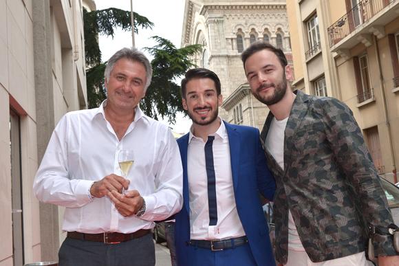 19. Thierry Fiorese, Romain Briançon et Kévin Bourgeois (Boutique n°20)