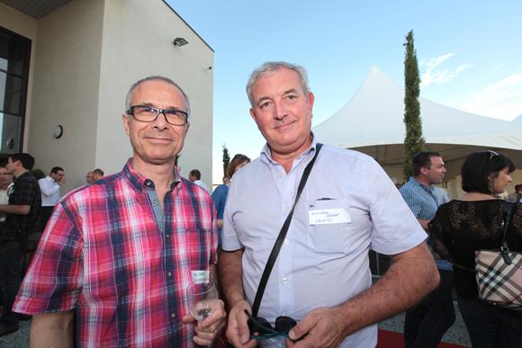 20. Hervé Favre (IS Management) et Dominique Roche (ACNIS)
