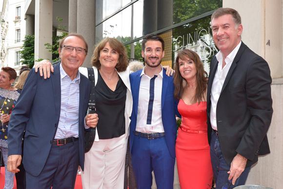 20. Jean-Louis Briançon, Claudy, Romain et Marie Briançon (clinique Crillon), Nicolas Winckler (Lyon People)