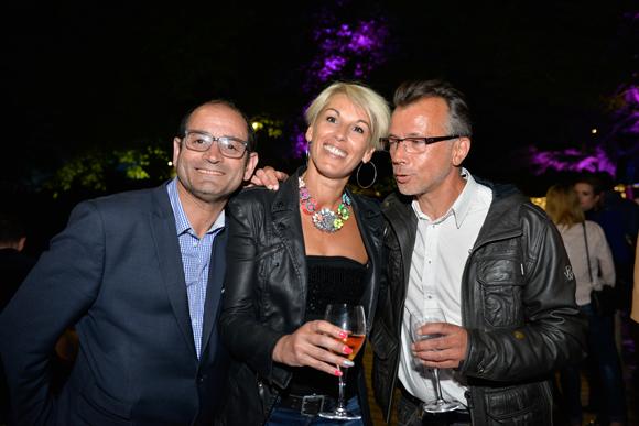 20. Messaoud Souadia (Immobilier Conseil), Isabelle Moucot (Moucot Fitness) et François Buthurieux (Aba)