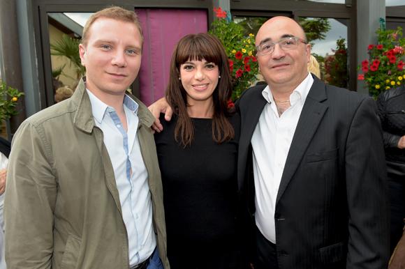 21. Alexandre Vincendet, maire de Rillieux son épuse Morgane et Franck Sucillon