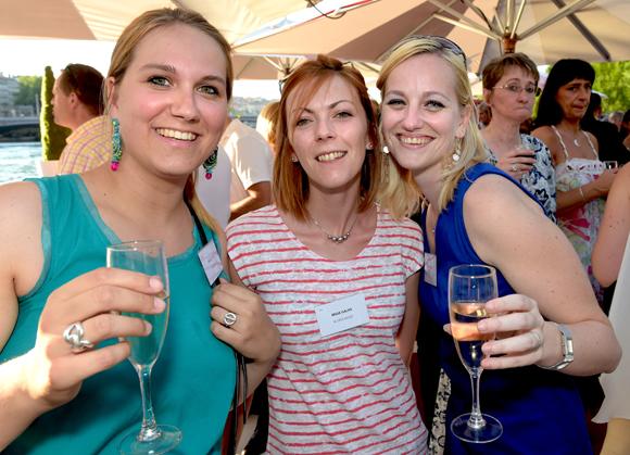 21. Ludivine Vetu, Sandra Descaillot et Jessica Desrichard (Galyo)