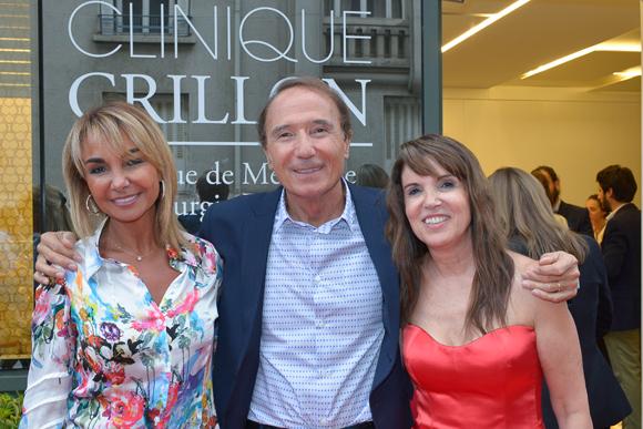 21. Nicole Cohen (Galix), Jean-Louis et Marie Briançon (Clinique Crillon)