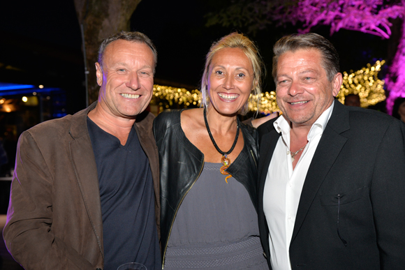 22. Michel Delporte, Alexandrya Delmau (Infinity Capital) et Pierre Julien (SFI)