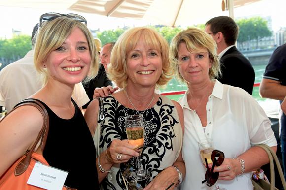 2. Anne-Claire Marsot, Chantal Bouteille et Marie-Laure Zubal (Régie Rivoire)
