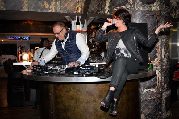 23. DJ Philippe Jacquet (Opéra Rock) et Mademoiselle Claire Lussiana