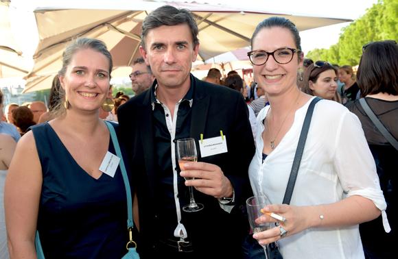 23. Hélène Gibier (Centrale Immobilier), Gilles Sale et Lucie Laboure (Citya Bourguignon)