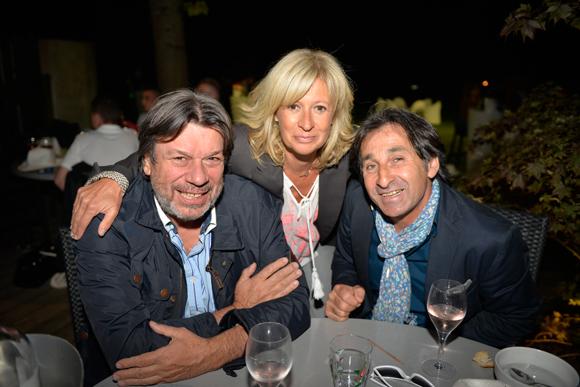 24. Patrice Baudin (Balloon), Sylvie Baudin (Lissandre) et Lucien Piancatelli (LP Charpente)