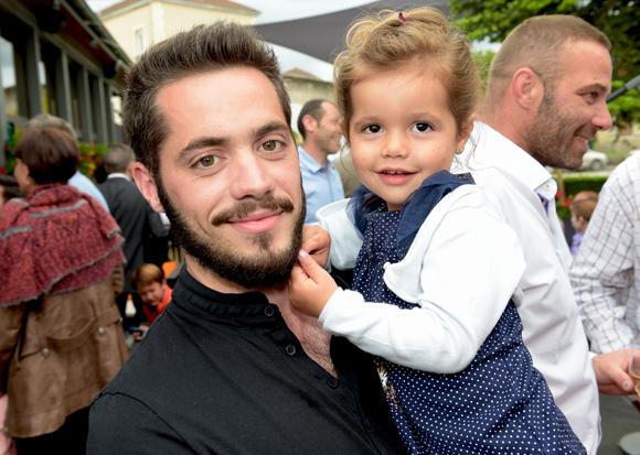 24. Benjamin Tolfa et sa fille LilyRose