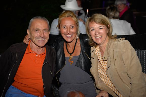 25. Jean-Pierre Ducarouge, Alexandrya Delmau (Infinity Capital) et Gislaine (Baloon)
