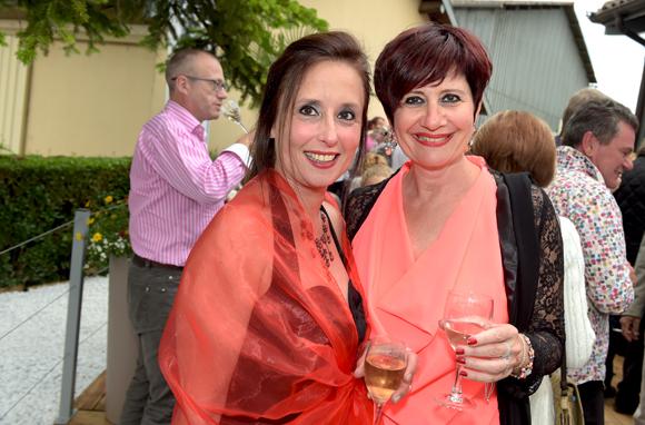 25. Corinne Chabreiron (Auberge de la Tour) et Cathy Sadin (Un temps pour elles)