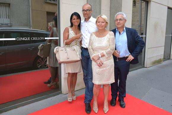 28. Christine Pompanon (Chopard), Mireille Onave (Faculté de médecine de St Etienne) et Marc Zarebski (médecin esthétique)