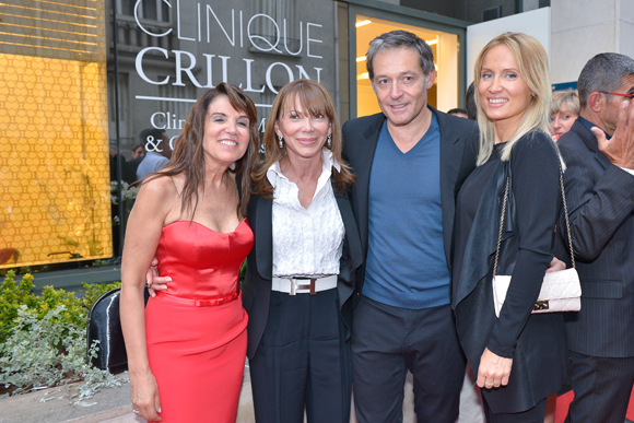 31. Marie Briançon (clinique Crillon), Dora d'Ambrosio, Christophe Verpillot et Eva Kubasiak (Valority)
