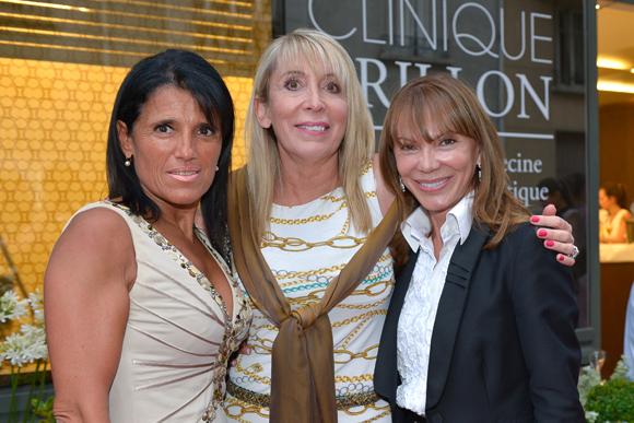 32. Christine Pompanon, (Chopard), Véronique Garnodier (Charlott) et Dora d'Ambrosio (Valority)