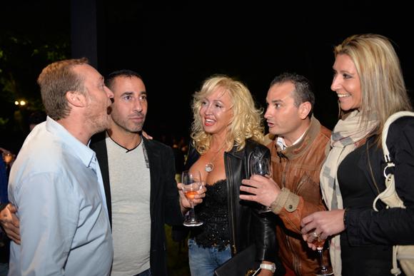 32. Benoit, Jean-Yves, Emilia, Jack et Gersende (La Chapelle Café)