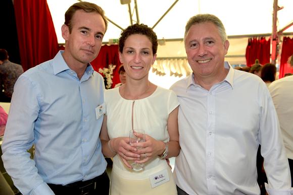 32. Emmanuel Brun (Groupe Brun assurances), Frédérique Demottaz (Olex Impact) et Philippe Neri (Servi Gaz)