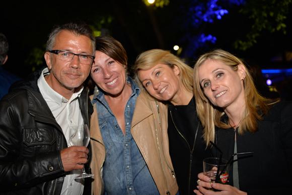34. François Buthurieux (Aba), Isabelle Mazet (Artevia), Corinne Chalendard (Jalis) et Muriel Mazoyer (Caf)