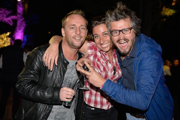 35. Olivier Bardet (Hollydays), Val Bar (Lyon People) et Raphaël Bargel (ATS Studio)