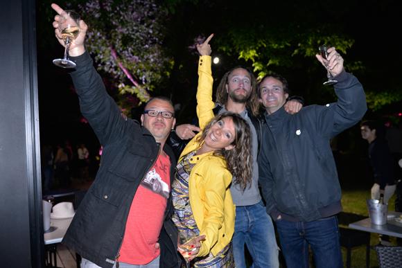 37. Franck Carneiro (Grace), Johana Hernati, Stéphane Poulat (Phil Pro Pose) et Jean-Michel Delmas (Fiducial)