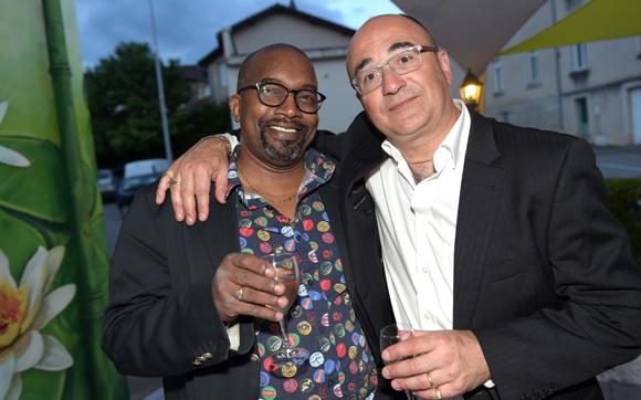 38. Joel Decator (Saint Maclou) et Franck Sucillon