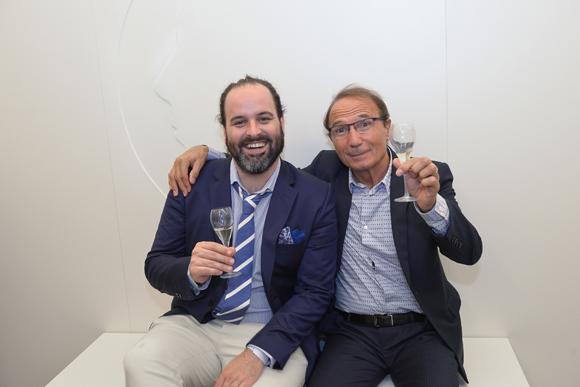 41. Abel Perez (architecte de la clinique) et Jean-Louis Briançon (Clinique Crillon)