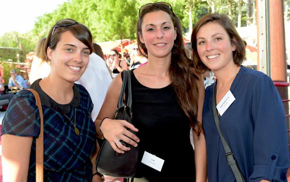 4. Sonia Goursat, Camille Protiere (B.B.B) et Clotilde Favre (Régie Favre de Fos)