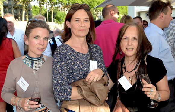 5. Chantal Bourgeois, Anne-Marie Thomas et Danielle Fraisse (Régie Fertoret)