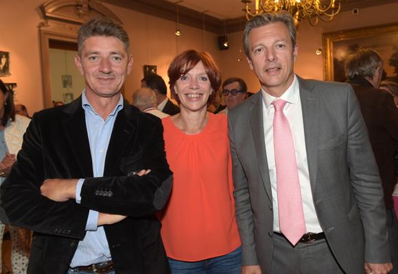 5. Damien Gouy-Perret, directeur de cabinet du maire du 6ème, Sandrine Frih, vice-présidente du Grand Lyon et Pascal Blache, maire du 6ème