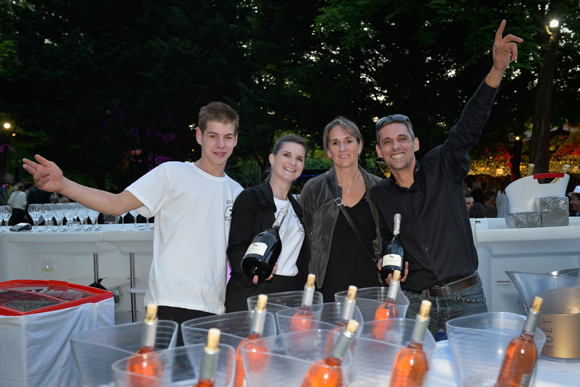 5. Adrien Busalli, Deborah Taghadi, Virginie Bottner et Cédric Galdeano (Zenbar)