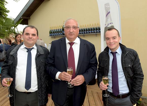 6. Christophe Augier (Métro), Patrick Attali et Florian Nezereau