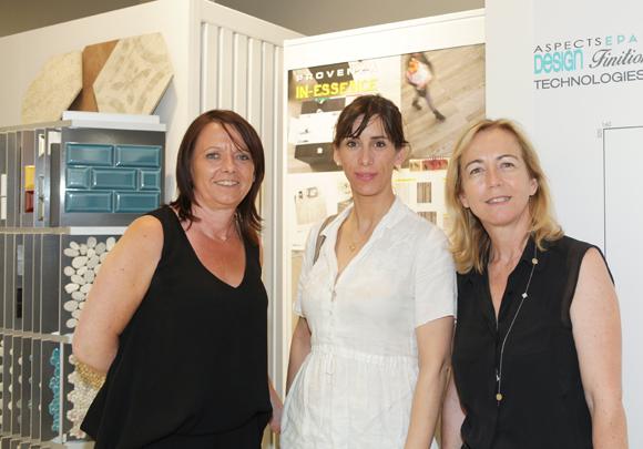 6. Nicole Truminfki (Décoceram), Caroline Porte et Catherine Ollagnon (Le Progrès)