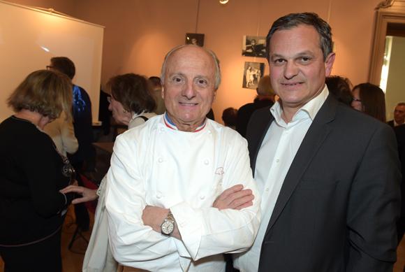 6. Pierre Orsi et Yves Hunckler, consul de Norvège