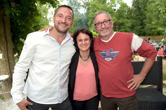 6. Tanguy Deleage, son épouse Cécile et son père Alain (Delect)