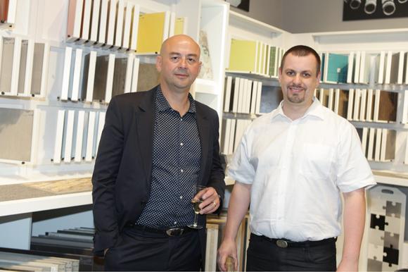 7. Franck Creusot (Kapark) et Jaroslav Bartonicek (Saint Gobain Performance Plastic)