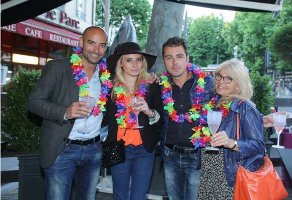 7. Franck Wilb (Neo Immobilier) et Anaëlle Eon (Pierre Orsi), Fabrice Plassard (Investis France) et Christine, infirmière