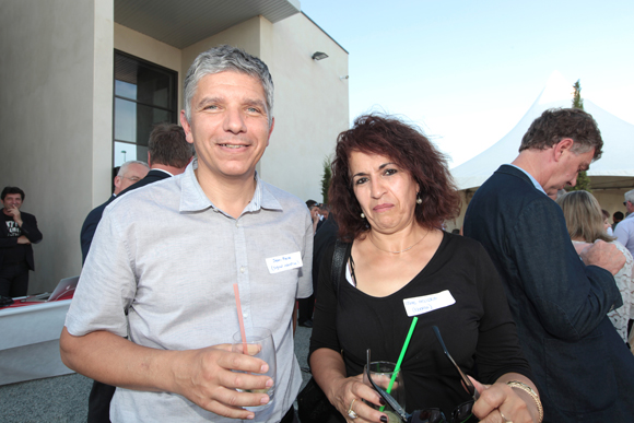 9. Jean-Pierre Casta (Signal Industrie) et Leila Houideg (Eberle)