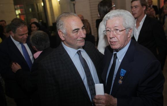 9. Georges Kepenekian, 1er adjoint au maire de Lyon et André Soulier