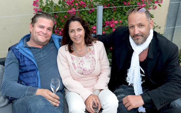 9. Sébastien Michel (Concept Son), Nathalie Pastor et James Iron (Carré VIP Consulting)