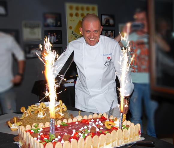 DUE. Les 52 bougies du chef Maurizio Bullano