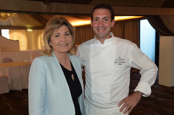 1. Chantal Partouche et son chef Jean-François Malle (La Rotonde)