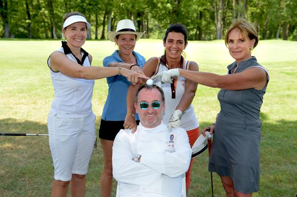 11. Stéphane Fernandez, Annie Wagner, Sophie Eisenreich, Blandine Brochier et Françoise Teixeira