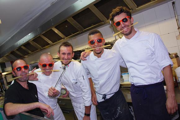 12. Spaghetti party en cuisine !