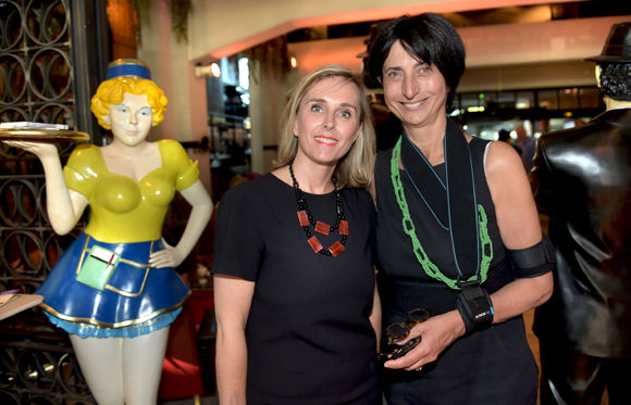 13. Sandrine Richard (Banque Populaire) et Anne-Marie Baezner (GL Events)