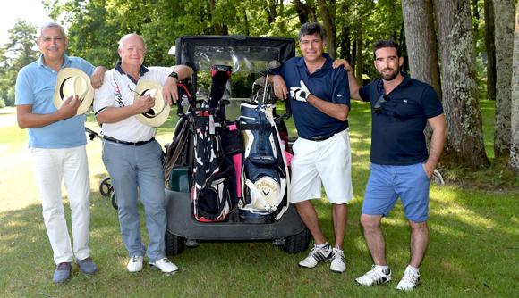 14. Franck Sayac, Charles Clerc, Fabrice Hoolbecq et César Dias